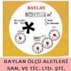 BAYLAN ÖLÇÜ ALETLERİ SAN. VE TİC. LTD. ŞTİ.