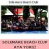 SOLEMARE BEACH CLUP AYA YORGİ